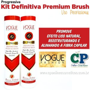 Kit Progressiva Definitiva Premium Brush 2x1L - Vogue Fashion