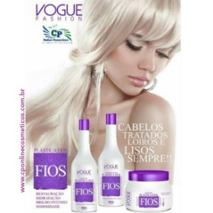 Kit Matizador Plastica dos Fios - Vogue Fashion