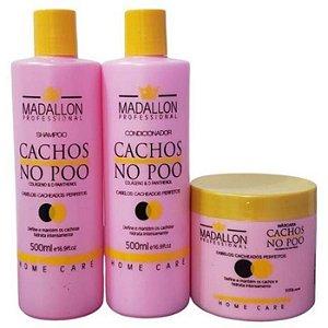 Kit Home Care Cachos No Poo - Madallon