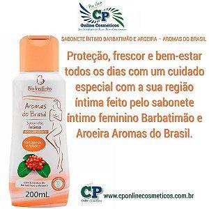 Sabonete Íntimo Barbatimão e Aroeira 200ml - Bio Instinto