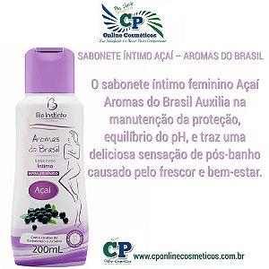 Sabonete Íntimo Açaí 200ml - Bio Instinto