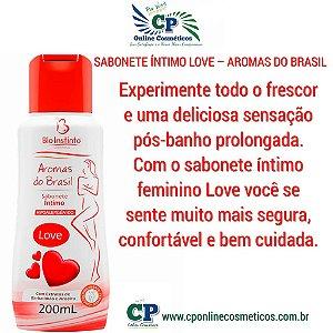 Sabonete Íntimo Love 200ml - Bio Instinto