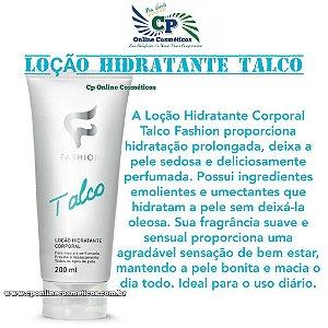 Loção Hidratante Corporal Talco 200ml - Fashion