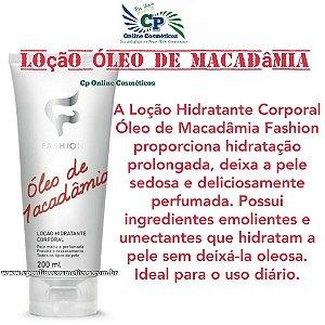 Loção Hidratante Corporal Óleo de Macadâmia 200ml - Fashion
