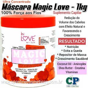 Máscara Suplemento Capilar Magic Love 1kg In Love