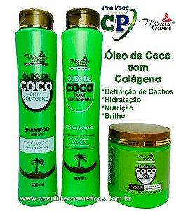 Kit Óleo de Coco com Colágeno - Minas Fórmula