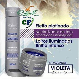 Kit Matizador Violeta - Belkit
