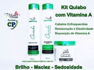 Kit Quiabo com Vitamina A - Minas Fórmula