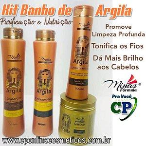 Kit Completo Banho de Argila - Minas Fórmula