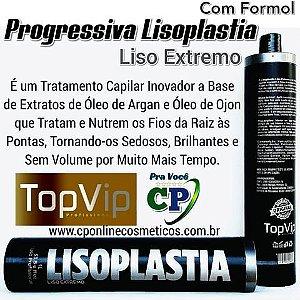 Progressiva Lisoplastia com Formol 1L - Top Vip