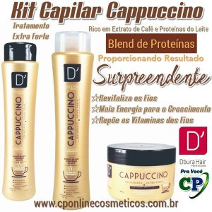 Kit Capilar Capuccino - D'oura Hair