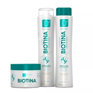 Kit Capilar Biotina - D'oura Hair