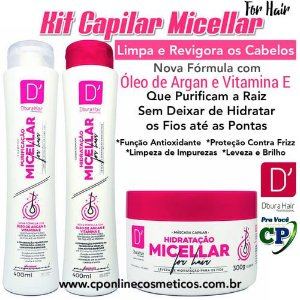 Kit Capilar Micellar - D'oura Hair