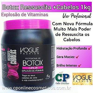 Botox Capilar Ressuscita Mais Cabelos 1kg - Vogue Fashion