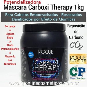 Máscara Carboxi Therapy 1kg - Vogue Fashion