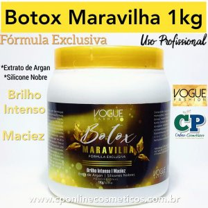 Botox Maravilha 1kg - Vogue Fashion