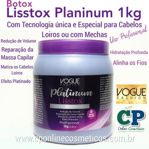 Lisstox Platinum 1kg - Vogue Fashion