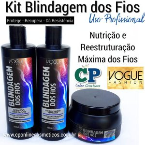 Kit Blindagem dos Fios - Vogue Fashion