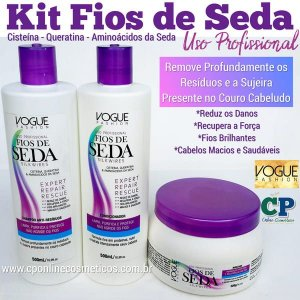 Kit Fios de Seda - Vogue Fashion