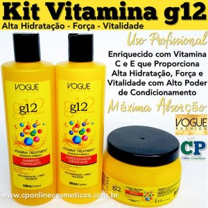 Kit Vitamina g12 - Vogue Fashion