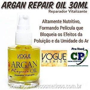 Reparador de Pontas Argan Repair Oil 30ml - Vogue Fashion