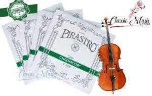 Encordoamento Para Violoncello - Cello Pirastro Chromcor