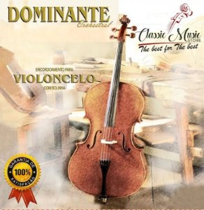 Encordoamento Para Violoncelo - Cello Dominante Orchestral
