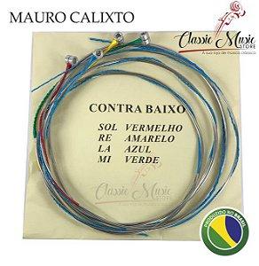 Encordoamento Para Contrabaixo Acústico Mauro Calixto 4/4