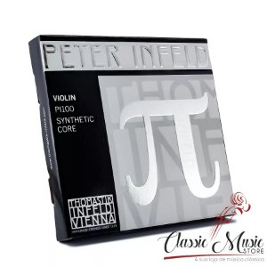 Encordoamento Para Violino 4/4 Peter Infeld mi platinum made in austria