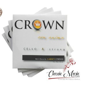 Encordoamento Para Cello Larsen Crown. Made In Denmark
