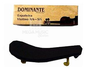Espaleira Dominante Para Violino 4/4 3/4 1/2 Ajustavel