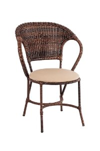 Cadeira Arco Balena Aço Galvanizado com Fibra Sintética Argila