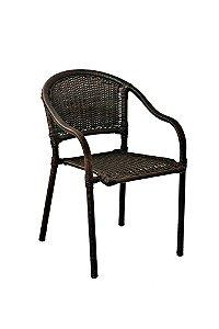 Cadeira Biquini Aço Galvanizado com Fibra Sintética Argila
