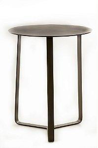 Mesa lateral 2267 toda aluminio pintado marom fosco
