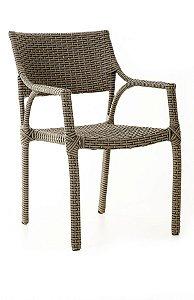 Cadeira Sandra Alumínio com Fibra Sintética Cobalto