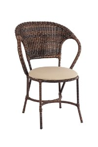 Cadeira Arco Balena Alumínio com Fibra Sintética Argila