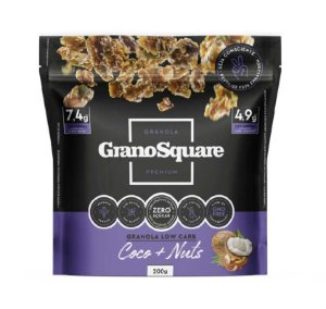 Granola Low Carb 200g Coco & Nuts - GranoSquare