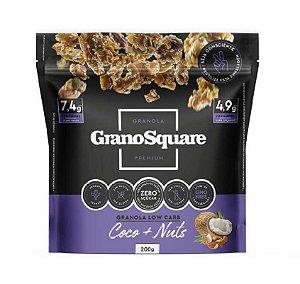 Granola Low Carb 200g Coco & Nuts - GranoSquare