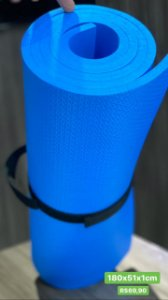 Tapete Yoga Azul 1CM - 1,80X51X1CM