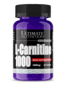 L-Carnitina 1000mg 30 caps - Ultimate Nutrition