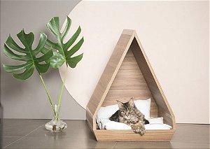 Casinha de Gato Toca Triângulo