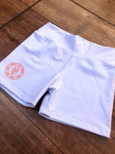 Shorts branco crossfit