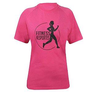 Camiseta Raglan Rosa