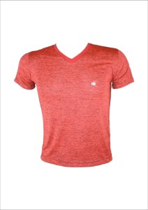 Camiseta mescla laranja