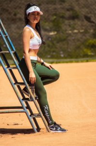 Legging kesportes green