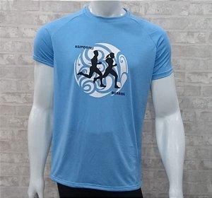 Camiseta Corrida azul