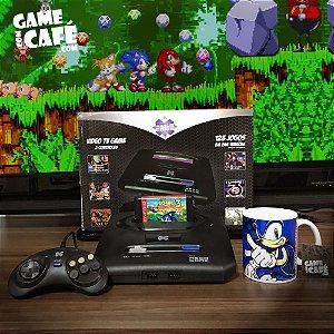 Mega Drive Clone com 123 Jogos + Sonic 3