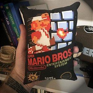 Mini Almofada Super Mario Bros