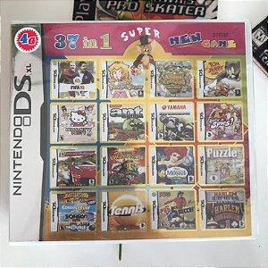 Super 37 jogos em 1 para Nintendo DS, 2DS ou 3DS