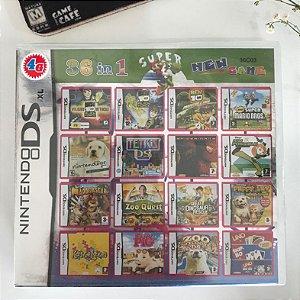 New Super Mario Bros - 36 jogos em 1 para Nintendo DS, 2DS e 3DS